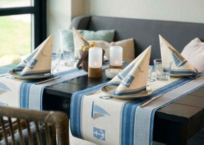 Servietten und Tischläufer von Duni