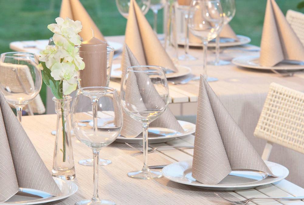 Servietten und Tischdecken – Inspiration von Mank